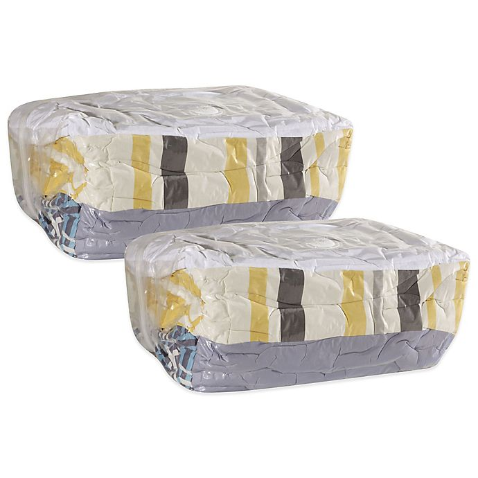 Alternate image 1 for Household Essentials® 2-Pack MightyStor Vacuum Bag Extra-Large Storage Cubes