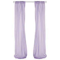 Glenna Jean Penelope 90-Inch Window Panels in Lavender (Set of 2)