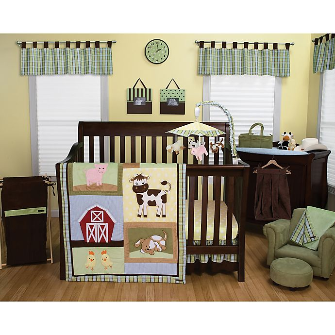 Alternate image 1 for Trend Lab® Baby Barnyard 3-Piece Crib Bedding Set