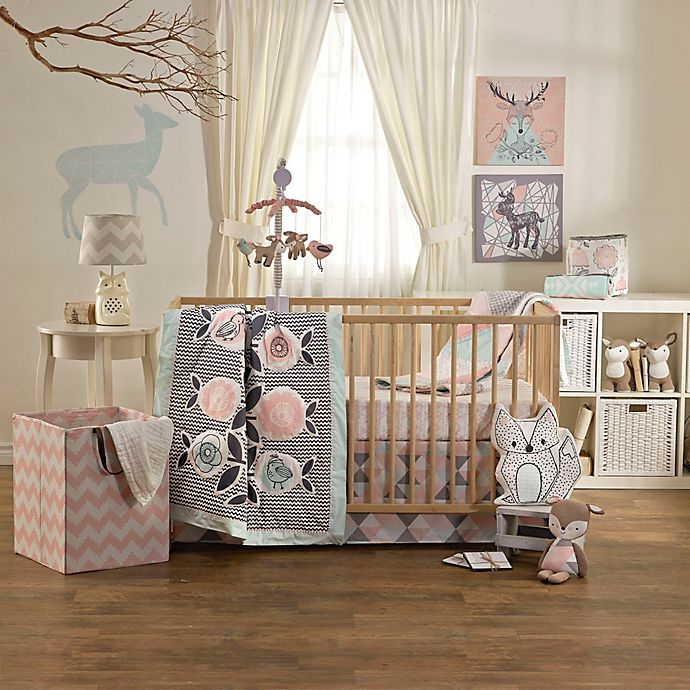 Alternate image 1 for Lolli Living™ by Living Textiles Mix & Match Sparrow 4-Piece Crib Bedding Set