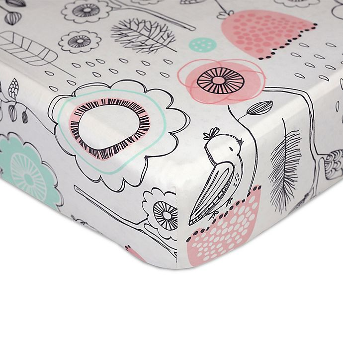 Alternate image 1 for Lolli Living™ by Living Textiles Mix & Match Sparrow Fitted Crib Sheet