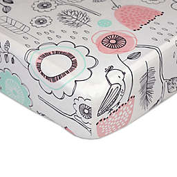 Lolli Living™ by Living Textiles Mix & Match Sparrow Fitted Crib Sheet
