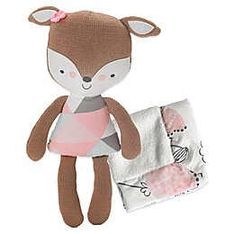 Lolli Living™ by Living Textiles Fiona Deer 2-Piece Softie Plush and Blanket Set