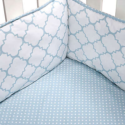 Trend Lab® Blue Sky 4-Piece Crib Bumper Set