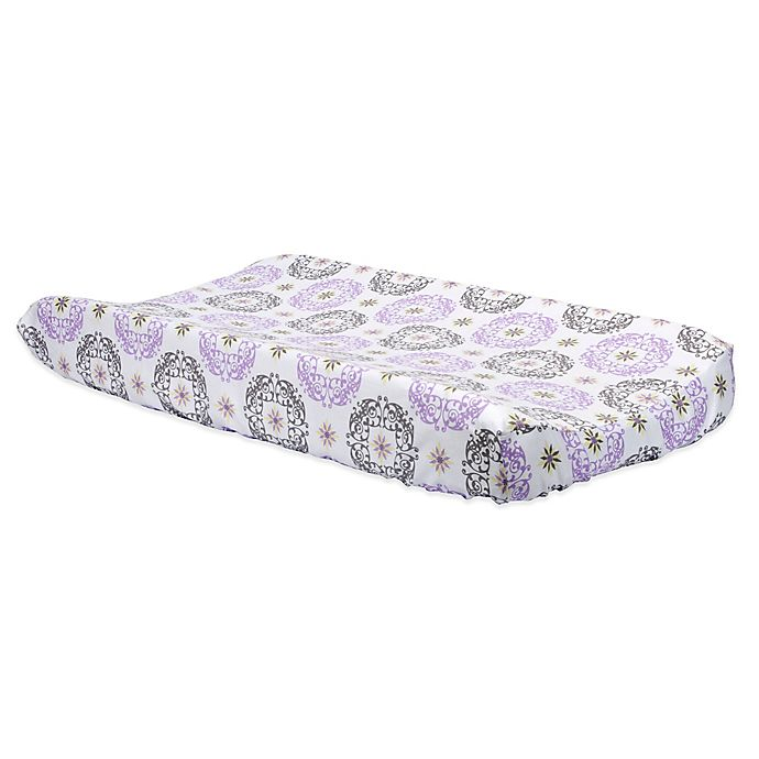 Alternate image 1 for Trend Lab® Florence Changing Pad Cover