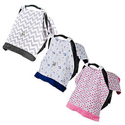 Itzy Ritzy® Cozy Happens Infant Car Seat Muslin Canopy