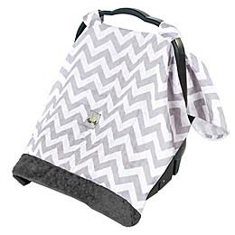 Itzy Ritzy® Cozy Happens Infant Car Seat Muslin Canopy