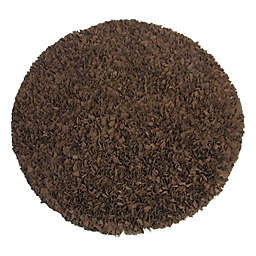 Glenna Jean Tanzania 48-Inch Round Rug in Brown