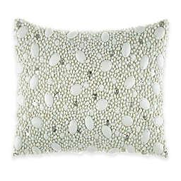 Catherine Malandrino Jade Ornate Oblong Throw Pillow in Seafoam
