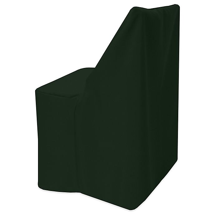 Alternate image 1 for Basic Polyester Cover for Wood Folding Chair in Forest