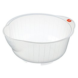 Inomata Japanese Rice Washing Speed Bowl, 2.5-quart