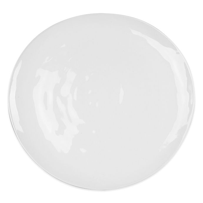 Alternate image 1 for Everyday White® by Fitz and Floyd® Organic Shape Dinner Plate