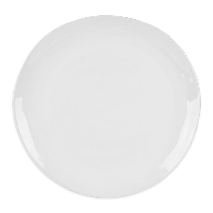 Alternate image 1 for Everyday White® by Fitz and Floyd® Organic Shape Salad Plate