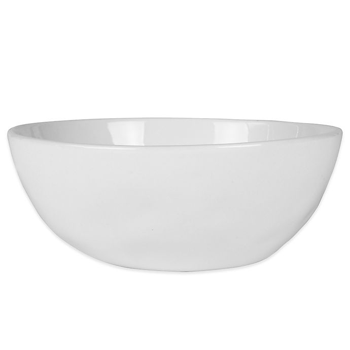 Alternate image 1 for Everyday White® by Fitz and Floyd® Organic Shape Soup/Cereal Bowl