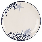 Everyday White®  by Fitz and Floyd® Coastal Starfish & Coral Dinner Plate