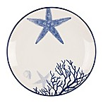 Everyday White®  by Fitz and Floyd® Coastal Starfish & Coral Salad Plate
