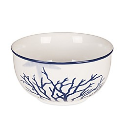 Everyday White®  by Fitz and Floyd® Coastal Starfish & Coral Soup Bowl