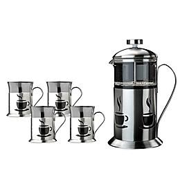 BergHOFF® French Press 5-Piece Coffee Set