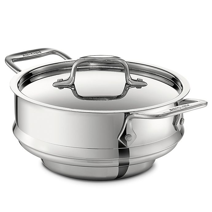 Alternate image 1 for All-Clad Stainless Steel 3 qt. Steamer with Lid