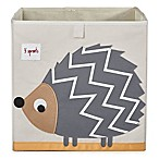 3 Sprouts Hedgehog Storage Box in Grey