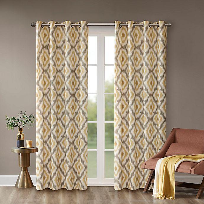 Alternate image 1 for INK+IVY Ankara Window Curtain Panel (Single)