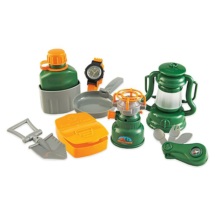Alternate image 1 for Learning Resources Pretend & Play® 7-Piece Camp Set