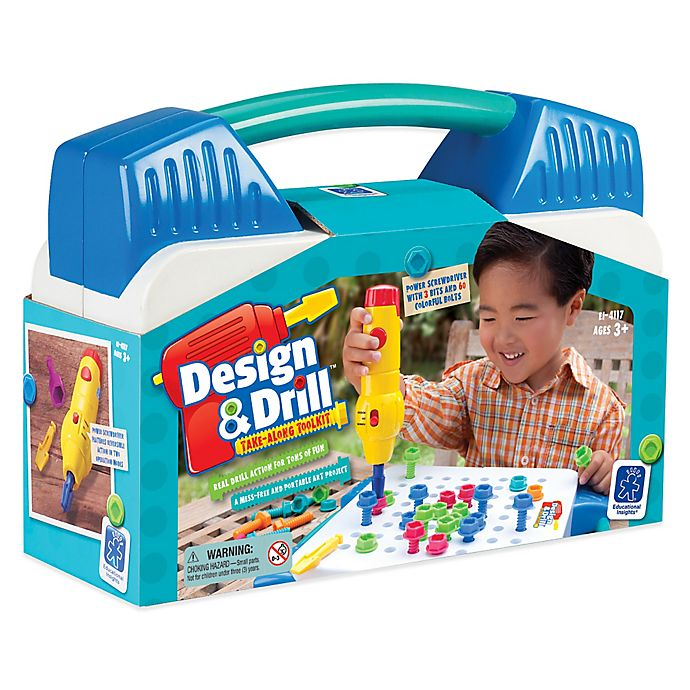 Educational Insights Design Drill Take Along Toolkit Bed Bath