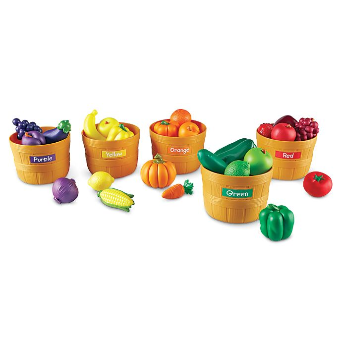 Alternate image 1 for Learning Resources Farmer's Market Color Sorting Set