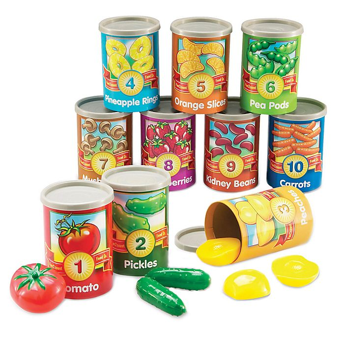 Alternate image 1 for Learning Resources 1 to 10 Counting Cans