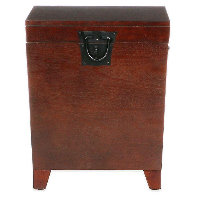 Alternate image 1 for Southern Enterprises Pyramid Trunk End Table
