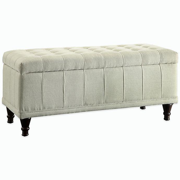 Alternate image 1 for Verona Home Ameila Storage Bench