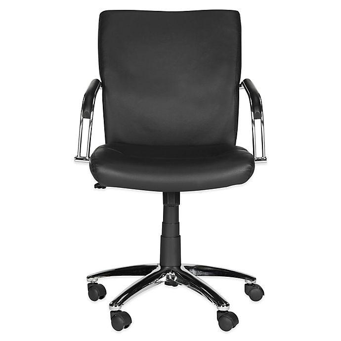 Alternate image 1 for Safavieh Lysette Desk Chair in Black