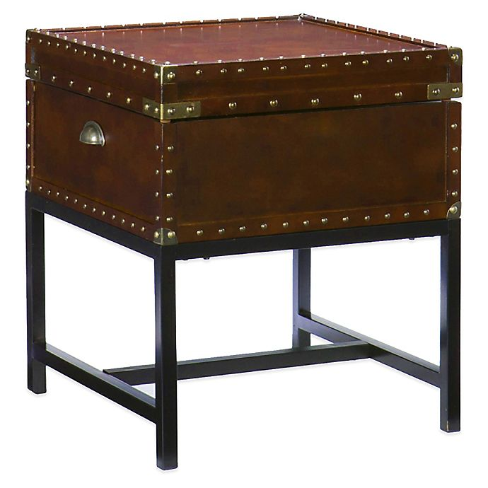 Alternate image 1 for Southern Enterprises Voyager Storage End Table