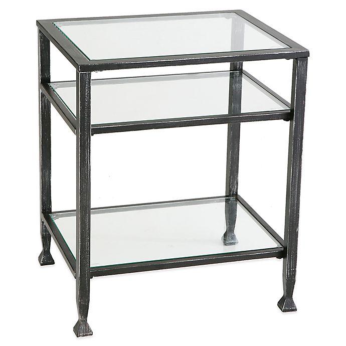 Alternate image 1 for Southern Enterprises Metal End Table in Black