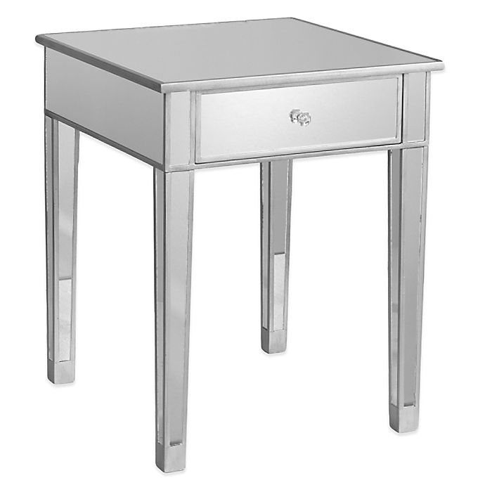 Alternate image 1 for Southern Enterprises Mirage Mirrored Accent Table