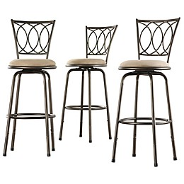 iNSPIRE Q®Freemont Adjustable Swivel Bar Stool (Set of 3)