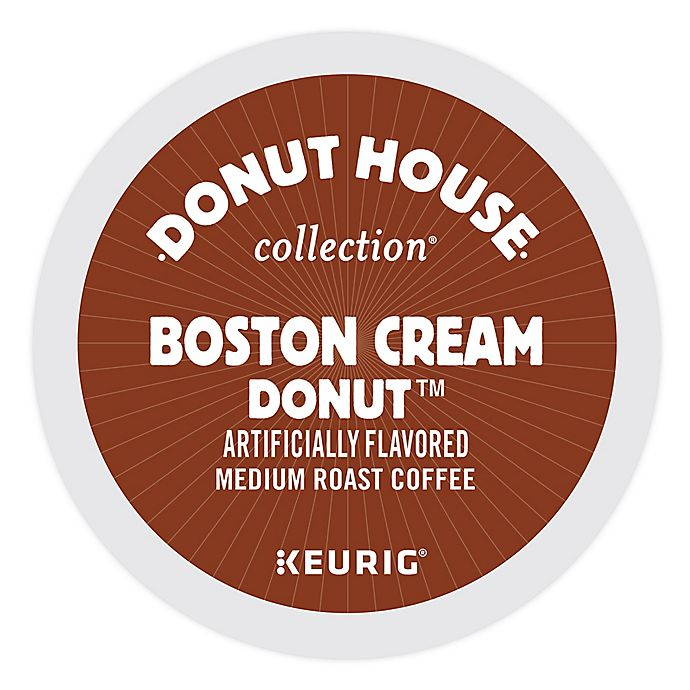 Alternate image 1 for Keurig® K-Cup® Pack 18-Count Donut House Collection® Boston Cream Donut™ Coffee