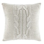 Nautica® Seaward Square Throw Pillow in Ivory