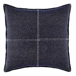Nautica® Seaward Square Throw Pillow in Denim Blue