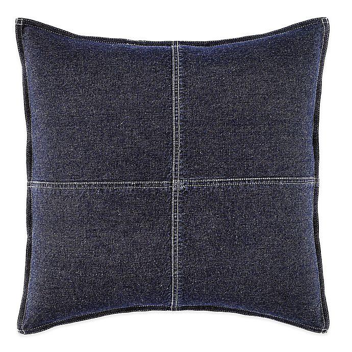 Alternate image 1 for Nautica® Seaward Square Throw Pillow in Denim Blue