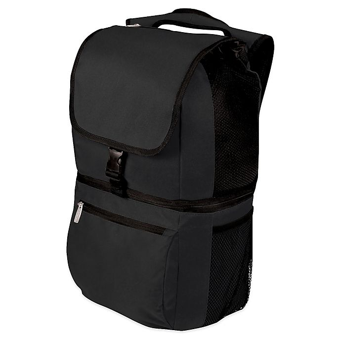 Alternate image 1 for Picnic Time® Zuma Cooler Backpack in Black
