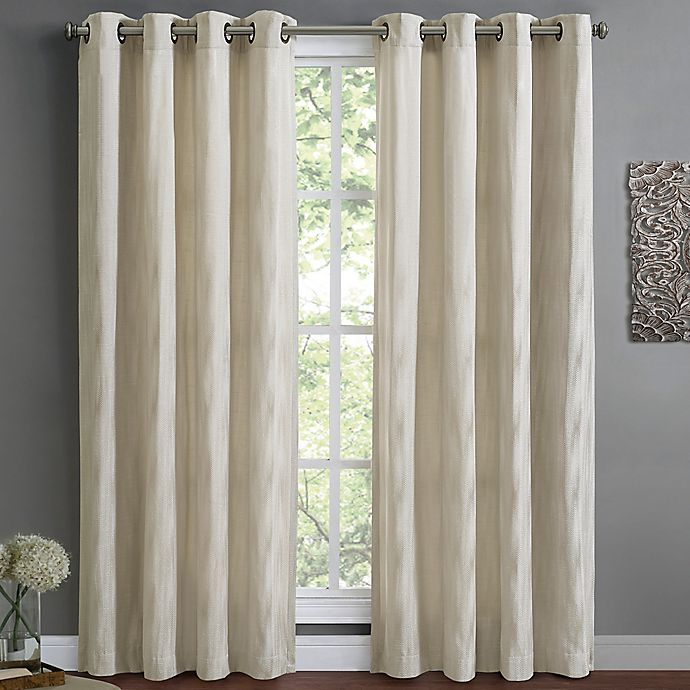 Alternate image 1 for Wyatt Lined Window Curtain Panel