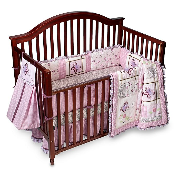 Cocalo Baby Sugar Plum 6 Piece Crib Bedding Set