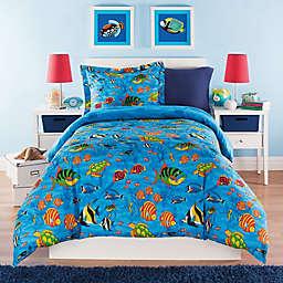 Under the Sea Reversible Comforter Set