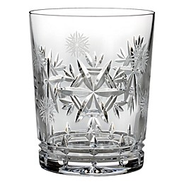 Waterford® Snowflake Wishes Health Double Old Fashioned Glass in Clear