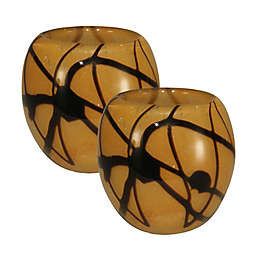 Dale Tiffany™ San Luis Glass Candle Holders (Set of 2)