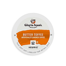 Keurig® K-Cup® Pods 18-Count Gloria Jean's® Butter Toffee Coffee