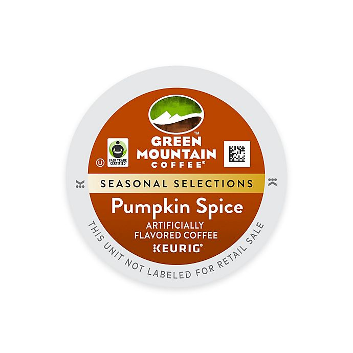 Alternate image 1 for Keurig® K-Cup® Pack 18-Count Green Mountain Coffee® Pumpkin Spice Coffee