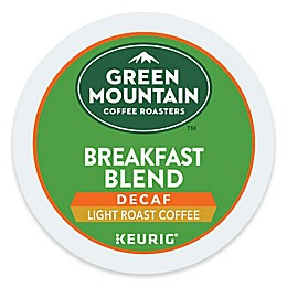 Green Mountain Coffee® Breakfast Blend Decaf Coffee Keurig® K-Cup® Pods 18-Count