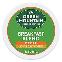 Green Mountain Coffee® Breakfast Blend Decaf Coffee Keurig® K-Cup® Pods 18-Count